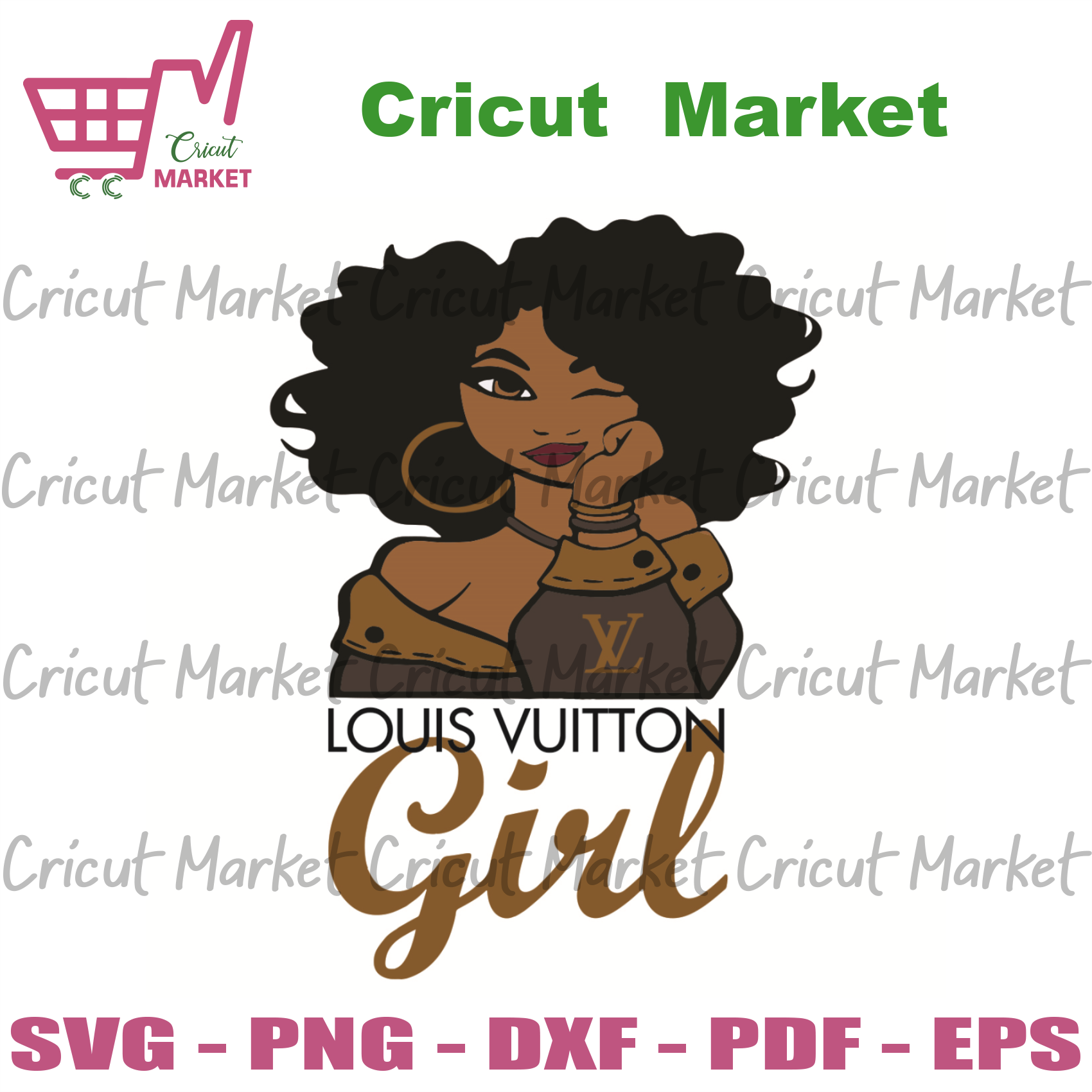 Louis Vuitton Girl Svg, Trending Svg, Louis Vuitton Svg, Louis Vuitton Black Girl Svg, Black Girl Svg, Girl Love Louis Vuitton Svg, Louis Vuitton Logo Svg, Louis Vuittonpattern Svg, Girl Gift