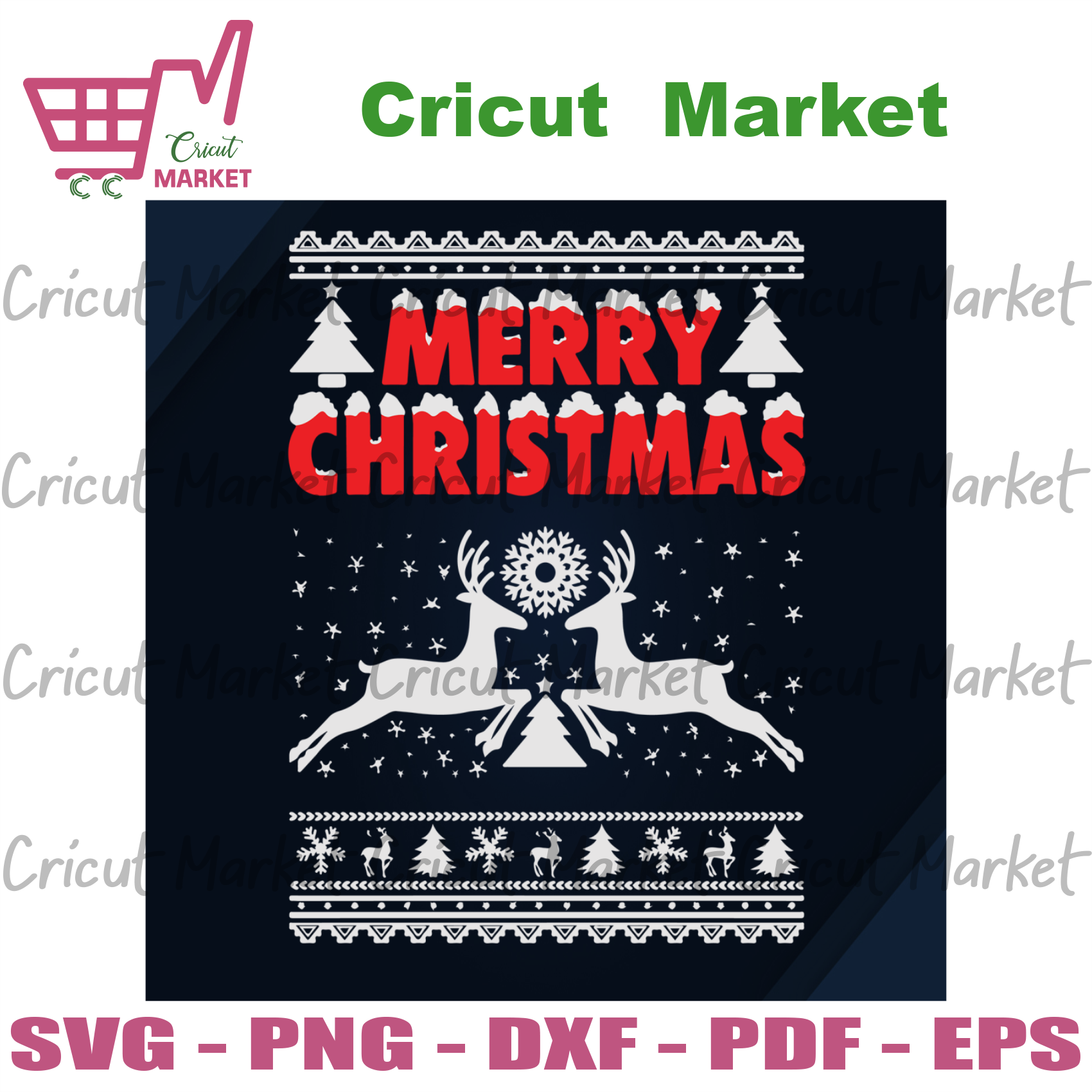 Merry Christmas, Christmas Svg, Reindeer Svg, Christmas Reindeer Svg, Reindeer Lovers, Christmas shirt svg, Merry Christmas, Christmas pattern, Christmas Party, Funny Christmas, Xmas Gift, Ch