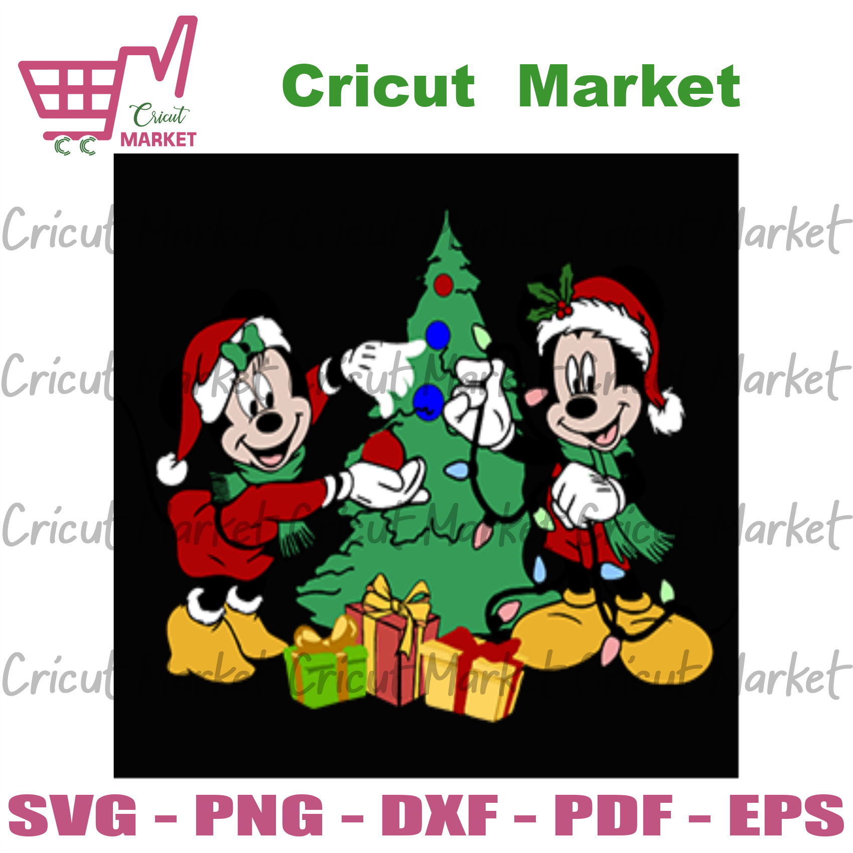 Mickey Christmas Svg, Christmas Svg, Mickey Mouse Svg, Christmas Tree Svg, Christmas Gifts Svg, Disney Christmas Svg, Merry Christmas Svg, Christmas Light Mickey Mouse, Christmas Ornament Svg