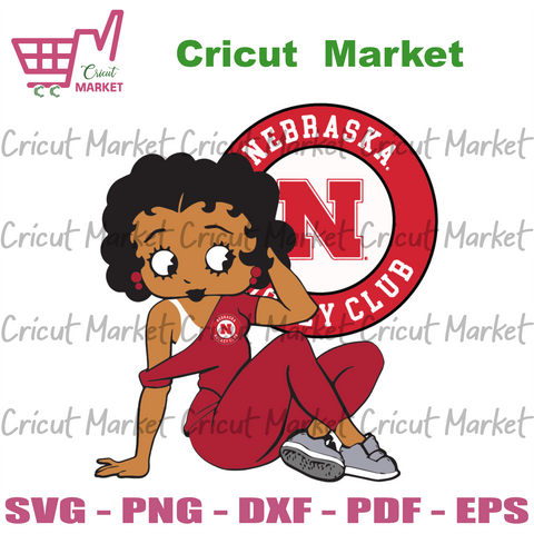 Nebraska Hockey Club Betty Boop, Sport Svg, Hockey Svg, Betty Boop Svg, Sexy Betty Boop, Love Hockey , Nebraska Hockey Club Logo, Logo Svg, Nebraska Hockey Club Svg, Nebraska Hockey Club Gift