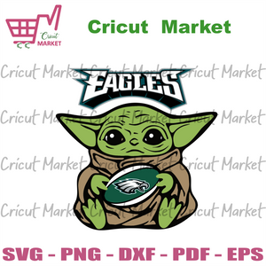 Philadelphia Eagles Baby Yoda, Sport Svg, Baby Yoda Svg, Philadelphia Eagles Svg, Eagles Baby Yoda Svg, Philadelphia Eagles Football, Philadelphia Eagles Yoda, NFL Gift Ideas, NFL Football Lo