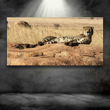 Load image into Gallery viewer, Cheetah on a Rock