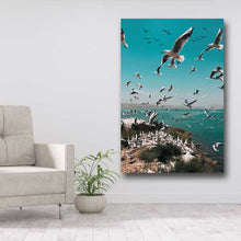 Load image into Gallery viewer, Flock of Seagulls on Island
