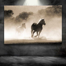 Load image into Gallery viewer, Horses Running in Dust