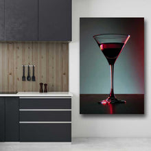 Load image into Gallery viewer, Martini Glass with Wine