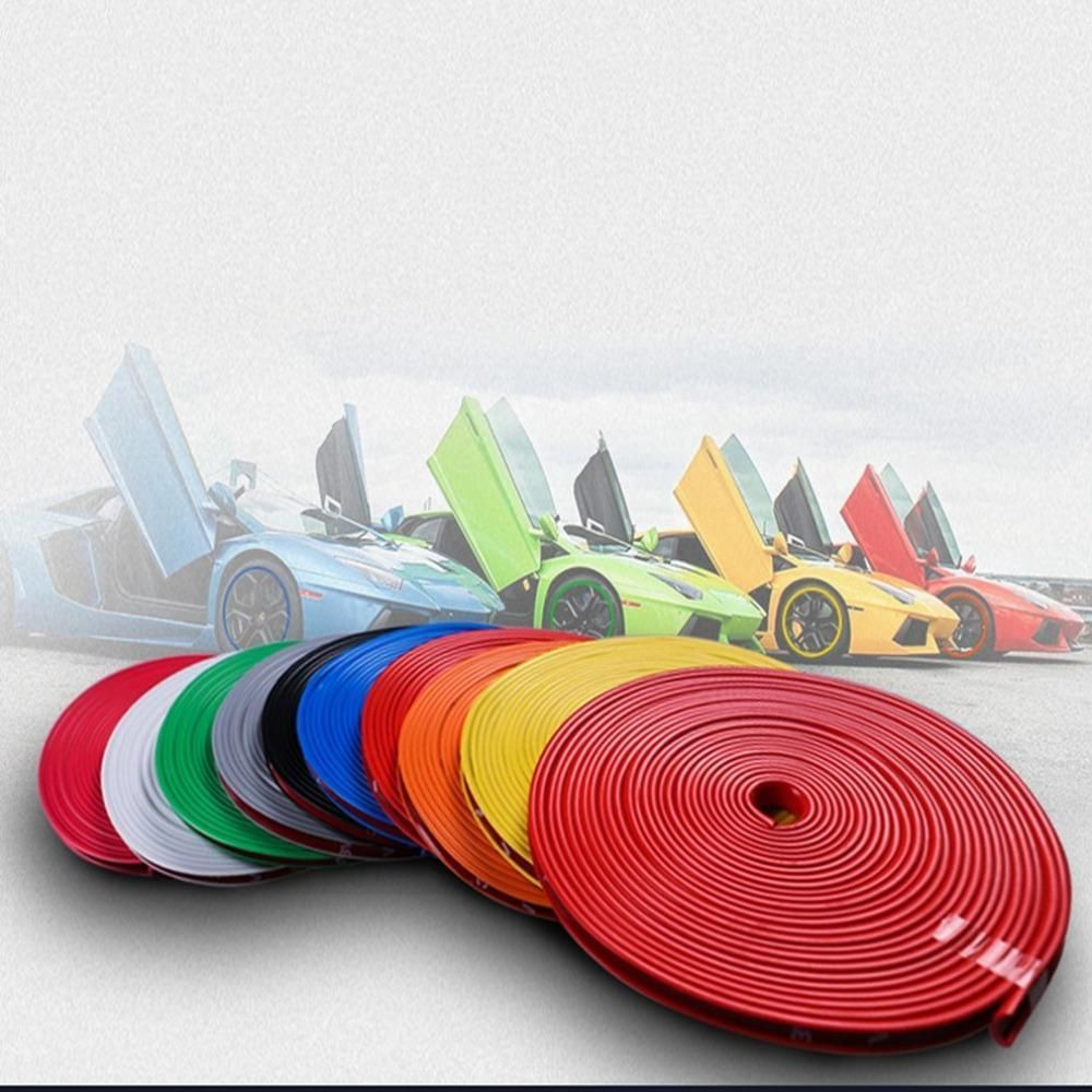 ColoRim Wheel Rim Protector Car Style Tire Rim Protector Rubber Moulding