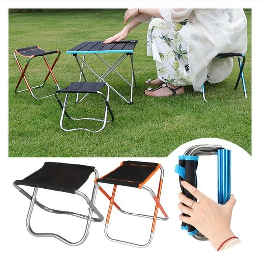 Ultra-Light Folding Chair (2PCS)