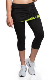 Energy Skirted Capri