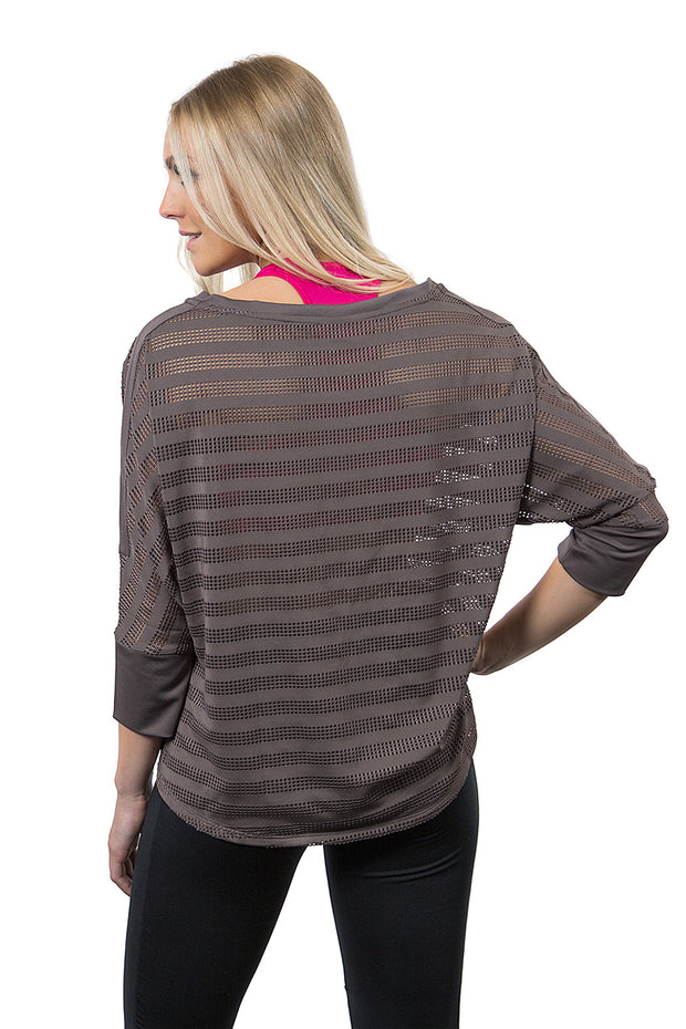 Mesh Cover-up Shirt