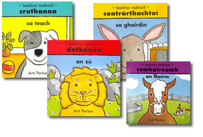 Sraith Leabhar Tadhaill / Touch and Feel Books  - Comhaireamh / Counting