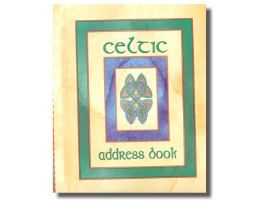 Celtic Address Book  (packed in box)