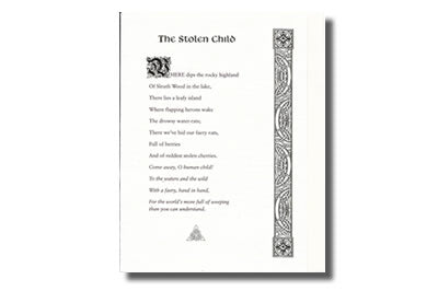 The Stolen Child by William Butler Yeats