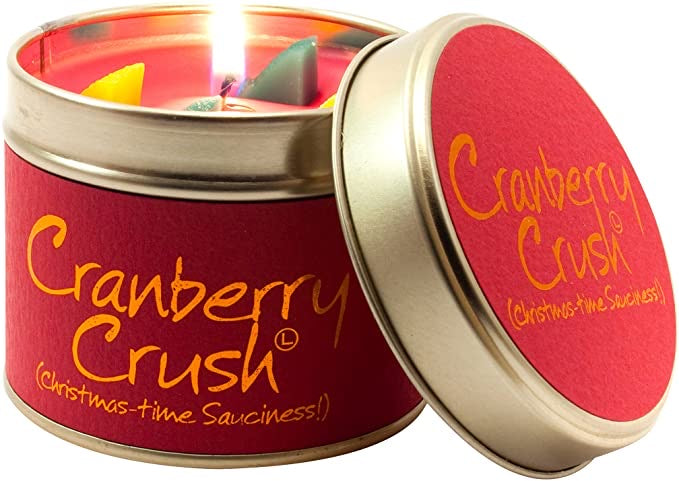 Cranberry Crush Scented Candle