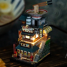Load image into Gallery viewer, Ramen Shop (With LED-Light)