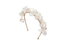 Load image into Gallery viewer, Giada Headband by Jennifer Behr - gold pearl colour