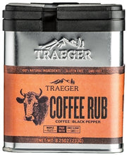Load image into Gallery viewer, TRAEGER RUB- COFFEE