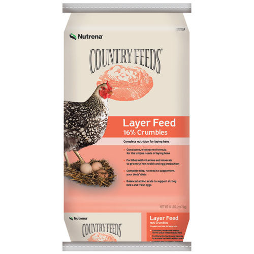 Nutrena Country Feeds 16% Chicken Layer Crumble