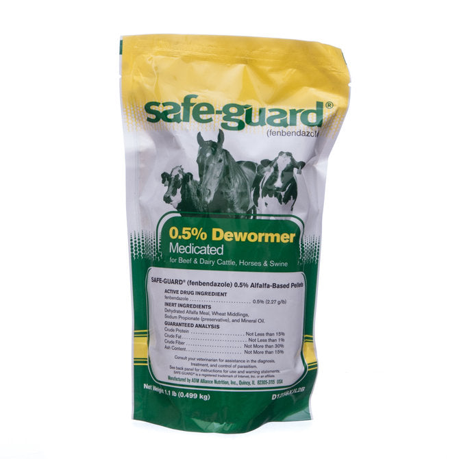 SAFEGUARD PELLET 0.5%  WORMER 1#