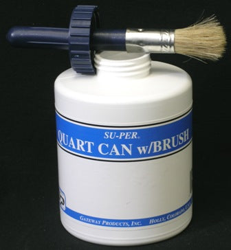 SU-PER QT CAN W-BRUSH