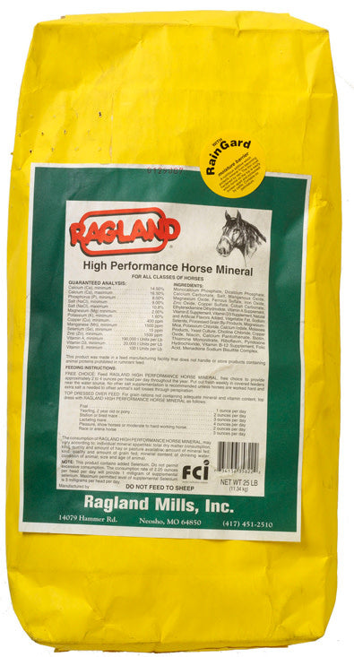 RAGLAND HIGH PERFORMANCE HORSE MINERAL