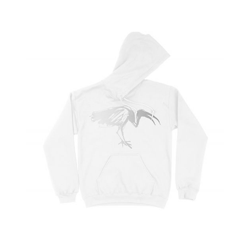 Silver White Hoodie