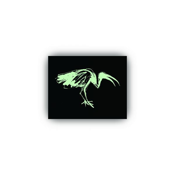Glow in the Dark Ibis Stickers