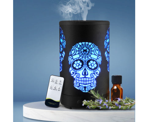 DEVANTI LED 100ML AROMA DIFFUSER AIR HUMIDIFIER