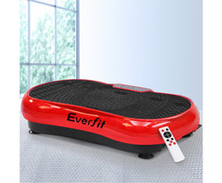 EVERFIT VIBRATION MACHINE PLATE PLATFORM BODY SHAPER HOME GYM - RED