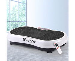 EVERFIT VIBRATION MACHINE PLATE PLATFORM BODY SHAPER HOME GYM - WHITE