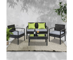 GARDEON 4 SEATER OUTDOOR PATIO SET