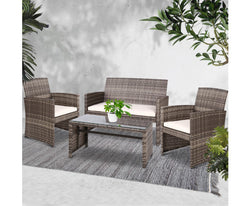 GARDEON 4PC OUTDOOR PATIO SET