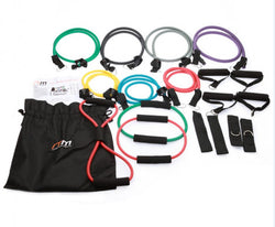 19PC RESISTANCE BAND YOGA SET