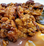 Caramel Pecan-Toffee Bread Pudding