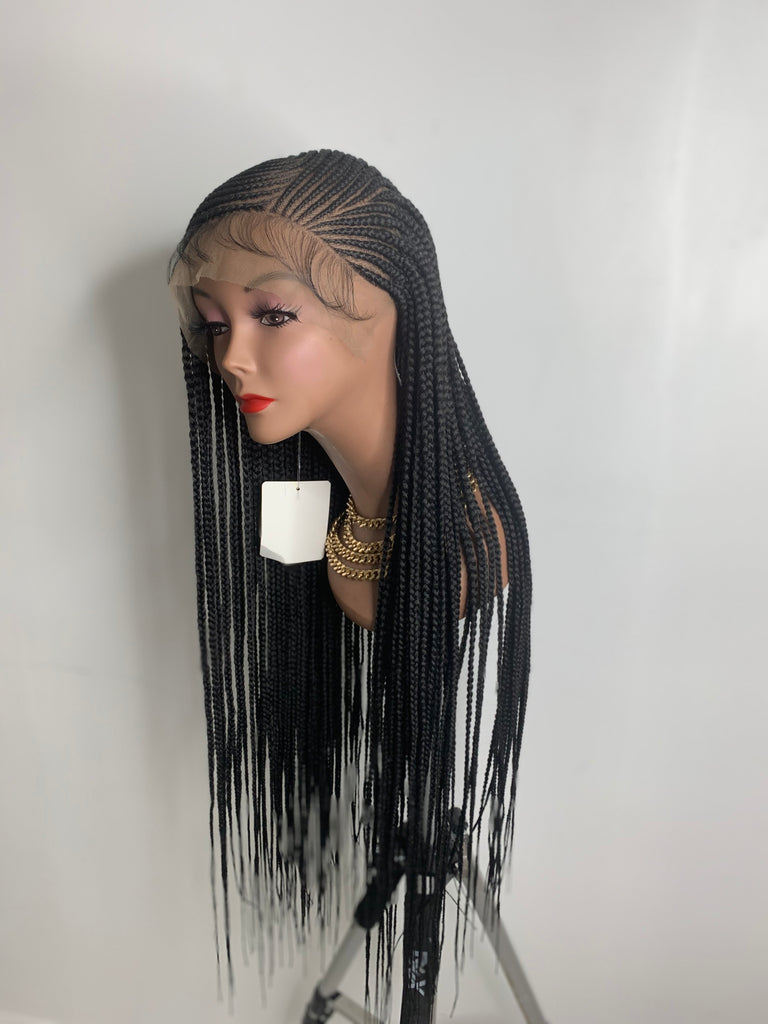 """Lemonade"" Braided Lace Wig"