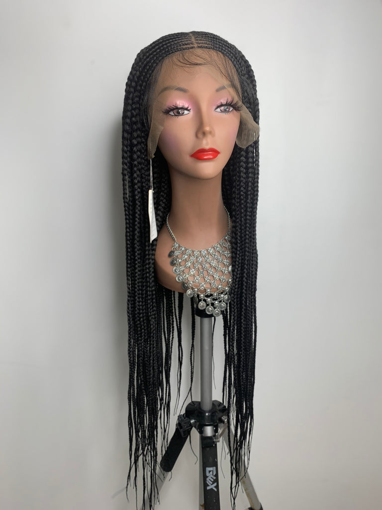"""Martini"" Braided Lace Wig"