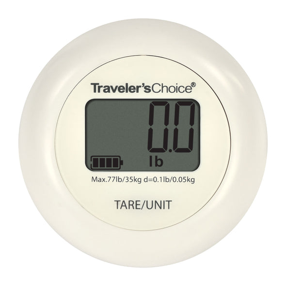 Traveler's Choice Portable Battery-Free Luggage Weight Scale