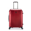 An image of a red luggage.