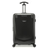 An image of a black luggage.