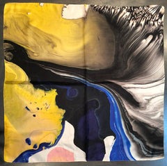 Amanda Wachob Silk Scarf for Clyfford Still Museum