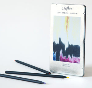 Clyfford Still Museum Pencils Colored
