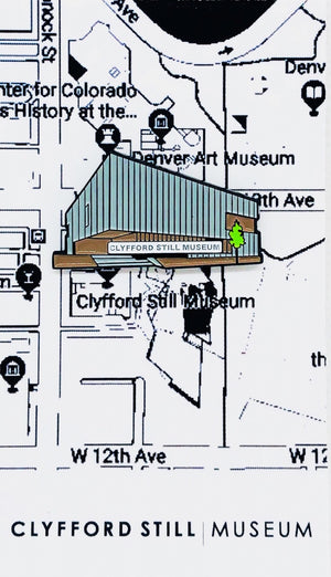 Clyfford Still Museum Pin