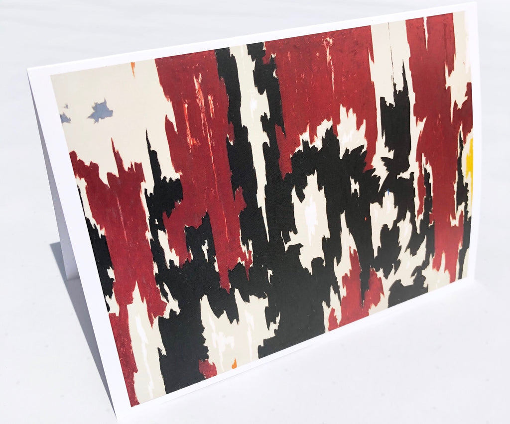 Clyfford Still Notecard PH-401