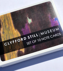 Clyfford Still Works on Paper Note Card Set