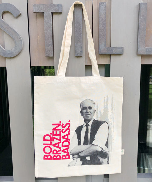 Organic Cotton Tote with Clyfford Still