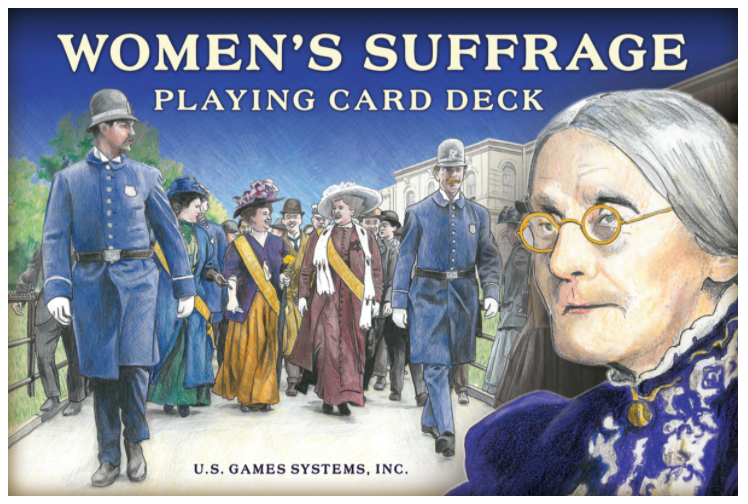 Women's Suffrage Playing Card Deck