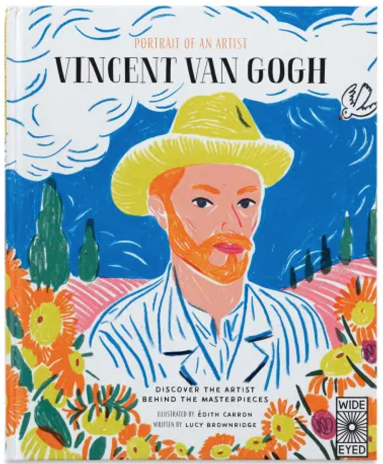 A Portrait of an Artist: Georgia O'Keeffe/Claude Monet/Vincent Van Gogh Set