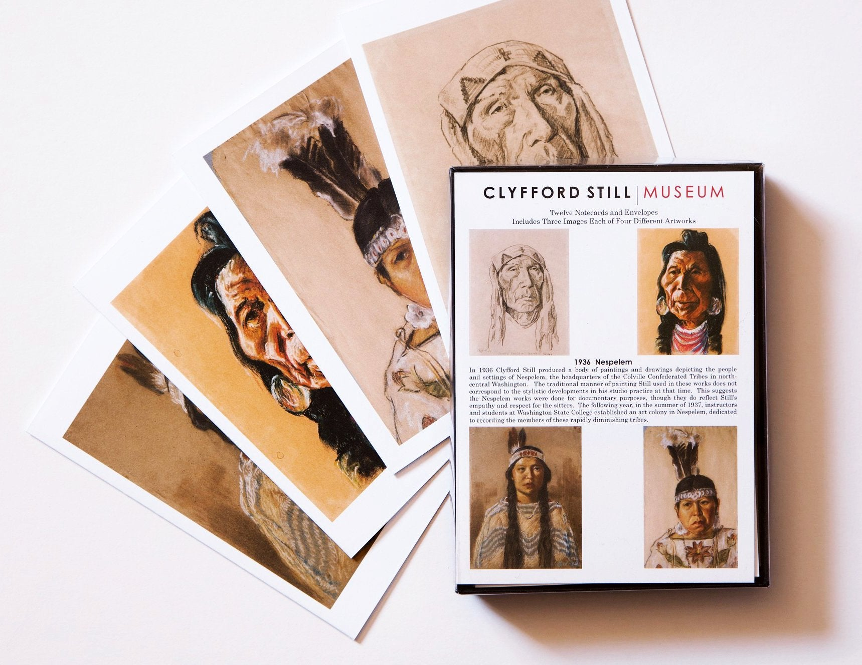 Notecard Set with Nespelem Images