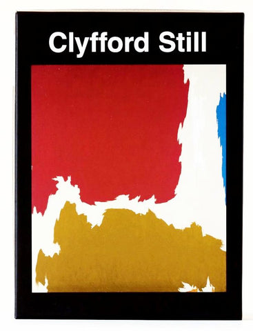 Clyfford Still Abstract Note Card Set