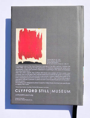 Mini Notebook with Clyfford Still Museum Building