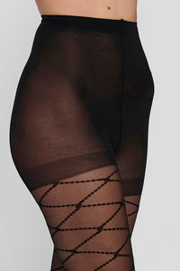 Emilie Tights - Black Square